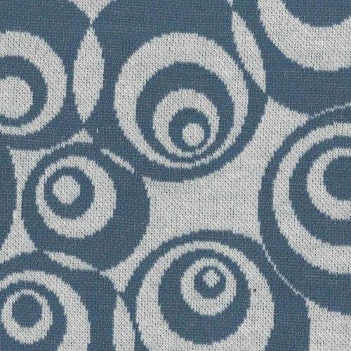 Courtelle - BOMULL SIGNE jaquard jeansblå