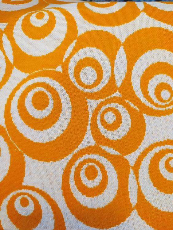 Courtelle - BOMULL SIGNE jaquard orange