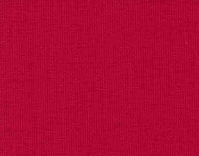 Enfärgad trikå GOTS röd 36