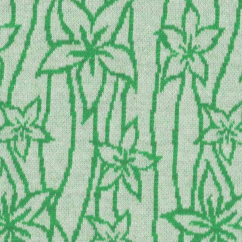 Courtelle - BOMULL VERA jaquard gräsgrön
