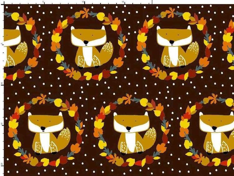 Bomullstrikå - Brown Foxes