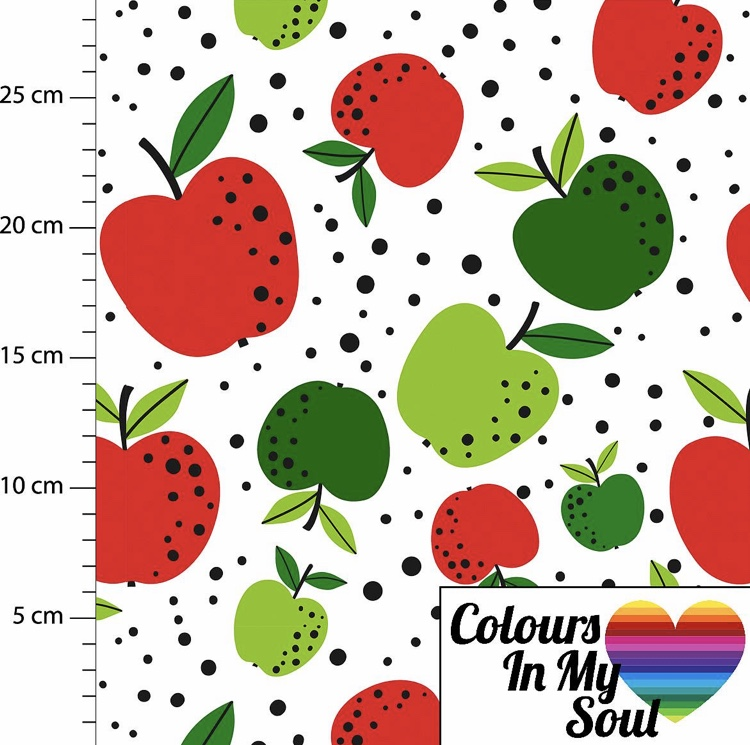 Colour in my soul Dots Apple Love