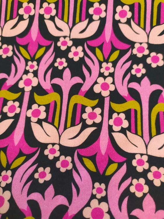 Bomullstrikå - Rigmor lila
