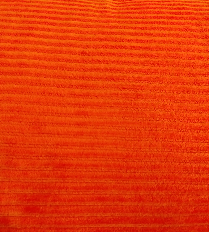 Bredspårig manchestervelour - Orange