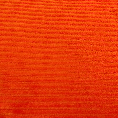 Bredspårig manchestervelour - Orange