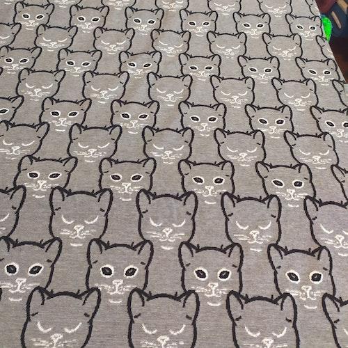 Jaquard för tex tights, katter