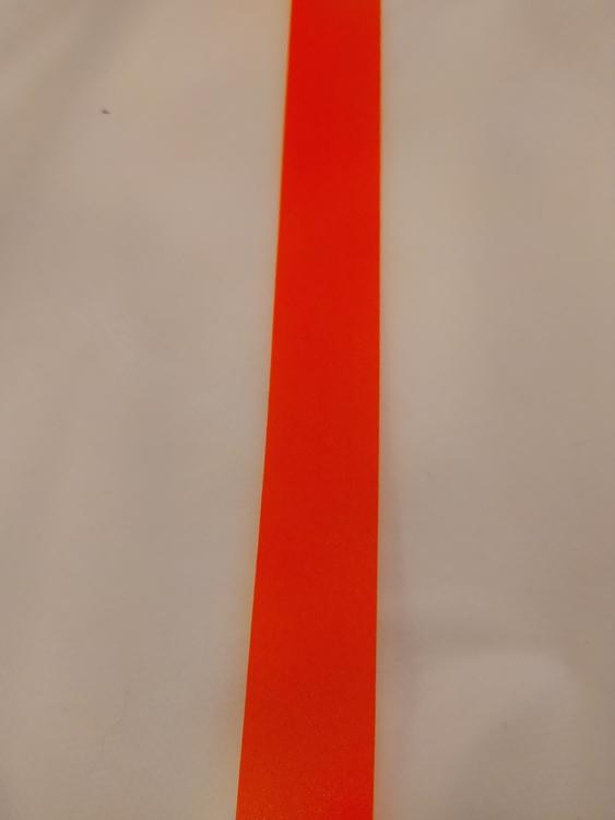 Reflexband 20 mm ORANGE NEON