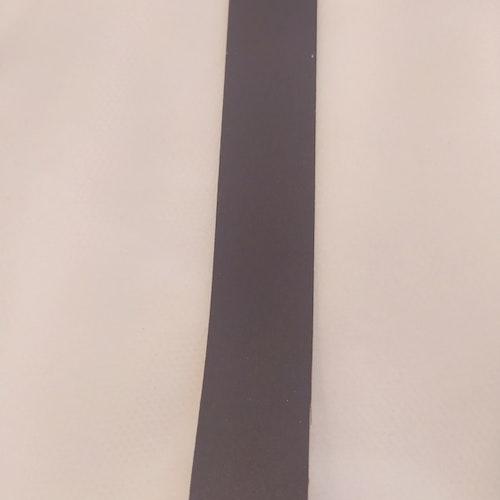 Reflexband 20 mm SVART ( gråsvart)