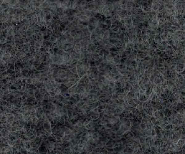 Kokt ull - mörkgrå