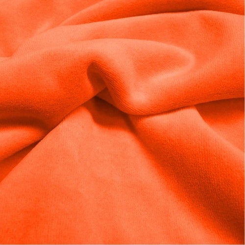 FILIPPA - Orange Velour