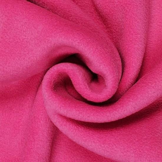 Fleece Polyester Cerise