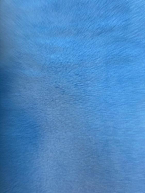 Fleece Polyester Himmelsblå