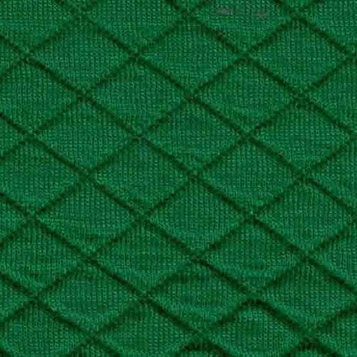 Kviltad trikå - Klargrön