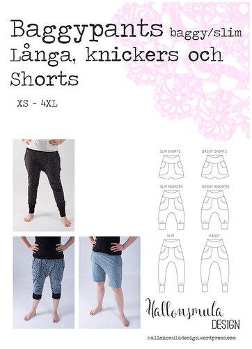 Hallonsmula Baggypants/slim - shorts, knickers och långbyxor stl XS -  XL