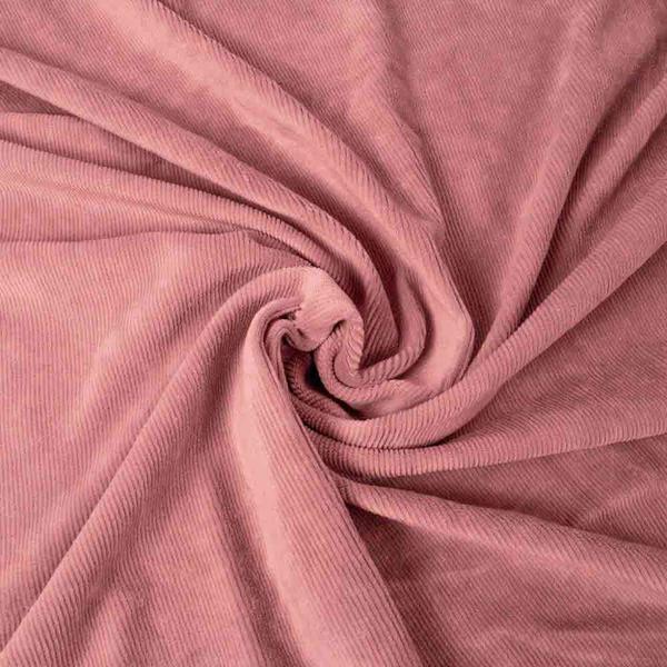 Smalspårig manchestervelour - Old Rose 880