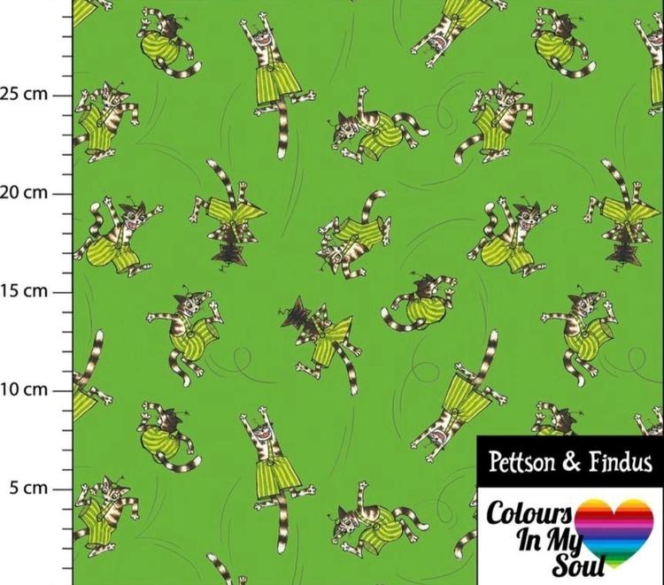 Pettson och Findus Findus hoppar Grön trikå