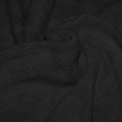 Fleece BOMULL SHERPA Svart