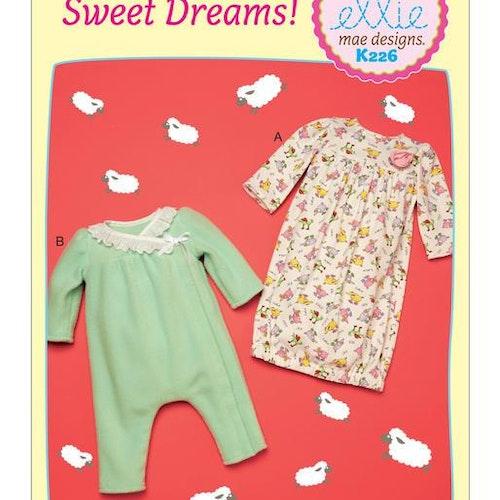 Kwik Sew 0226 - Pyjamas - Baby Ellie Mae