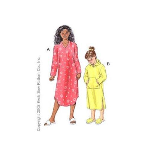 Kwik Sew 3102 - Pyjamas - Barn dam