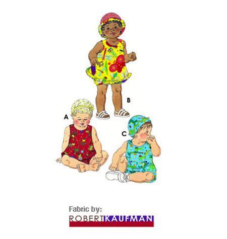Kwik Sew 3035 - Byxa - Baby - Hatt