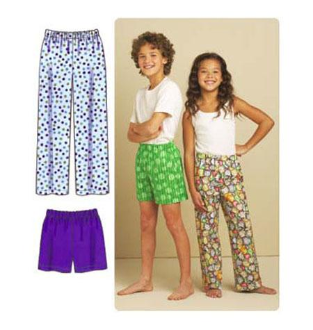 Kwik Sew 3589 - Pyjamasbyxor Barn