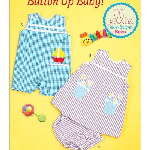 Kwik Sew 0220 - Jumpsuit - Baby