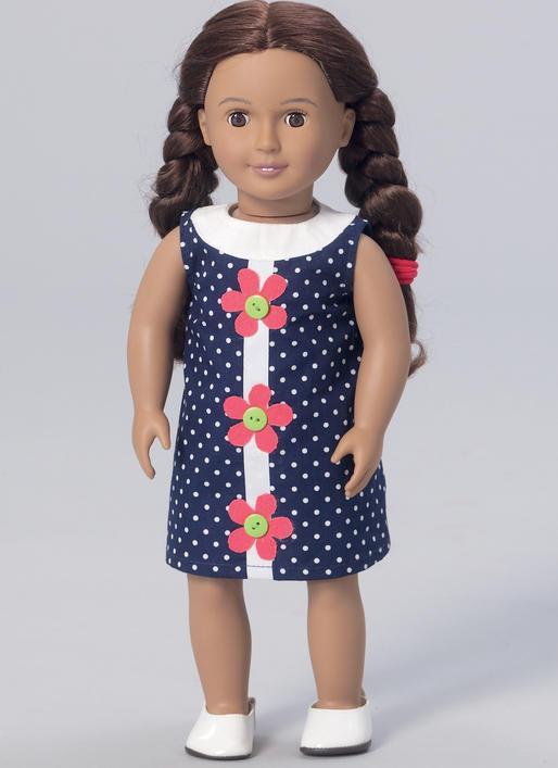 Kwik Sew 0221 - Top, klänning, byxa, dockkläder