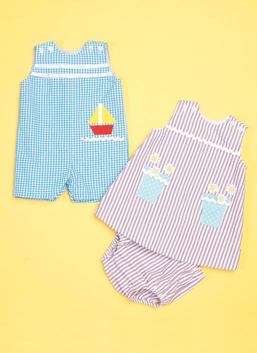 Kwik Sew 0214 - Jumpsuit - Baby Ellie Mae