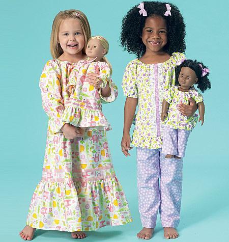 Kwik Sew 0213 - Pyjamas och nattlinne Ellie mae