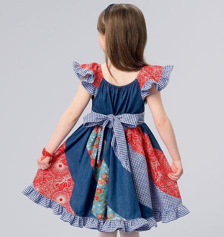 Kwik Sew k184  Klännning barn -  Ellie mae