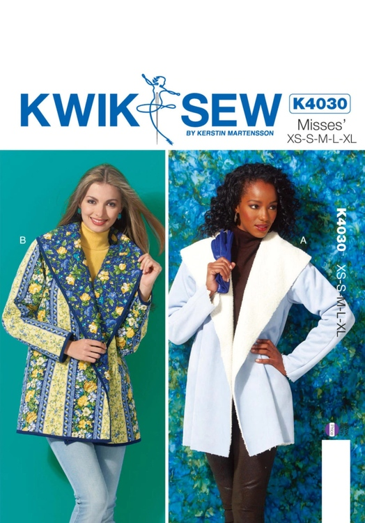 Kwik Sew 4030 - Jacka - Dam