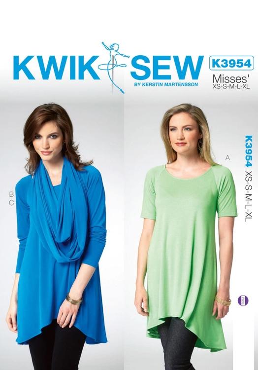 Kwik Sew 3954 - Top - Dam