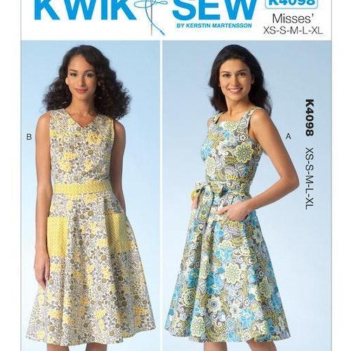 Kwik Sew 4098 - Dam klänning