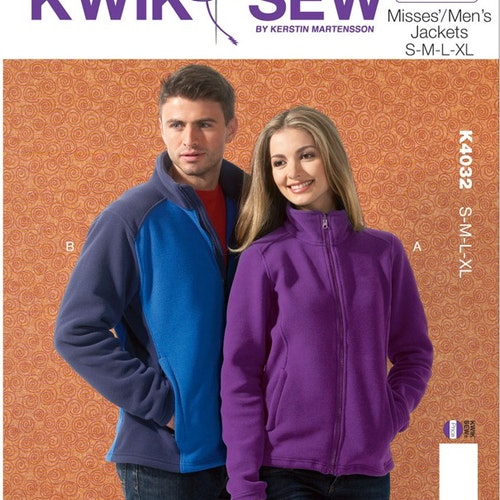 Kwik Sew 4032 - Jacka - Dam Herr
