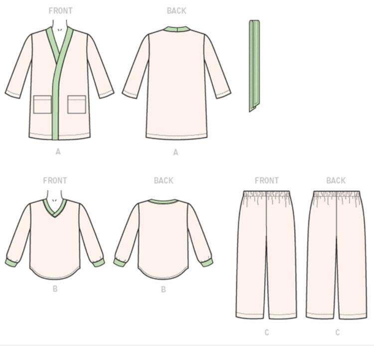 Kwik Sew 4131 - Pyjamas barn