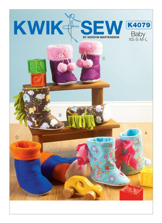 Kwik Sew 4079 - Tofflor Baby