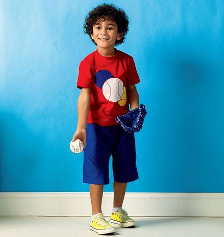 Kwik Sew 3999 - Byxa Shorts - Barn