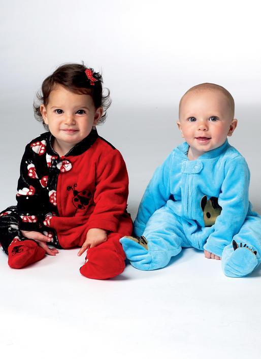Kwik Sew 3960 - Pyjamas - Baby