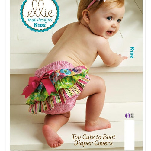 Kwik Sew k102 - Trosa underbyxa baby