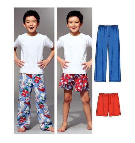 Kwik Sew 3786 - Pyjamas - Barn