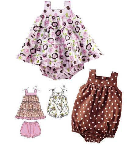 Kwik Sew 3776 - Byxa Top - Baby