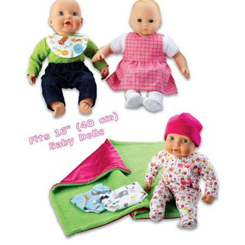 Kwik Sew 3834 - Hobby dockkläder