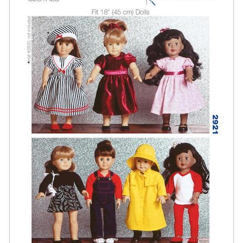 Kwik Sew 2921 - Hobby dockkläder