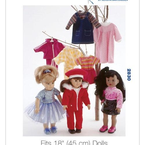 Kwik Sew 2830 - Hobby dockkläder