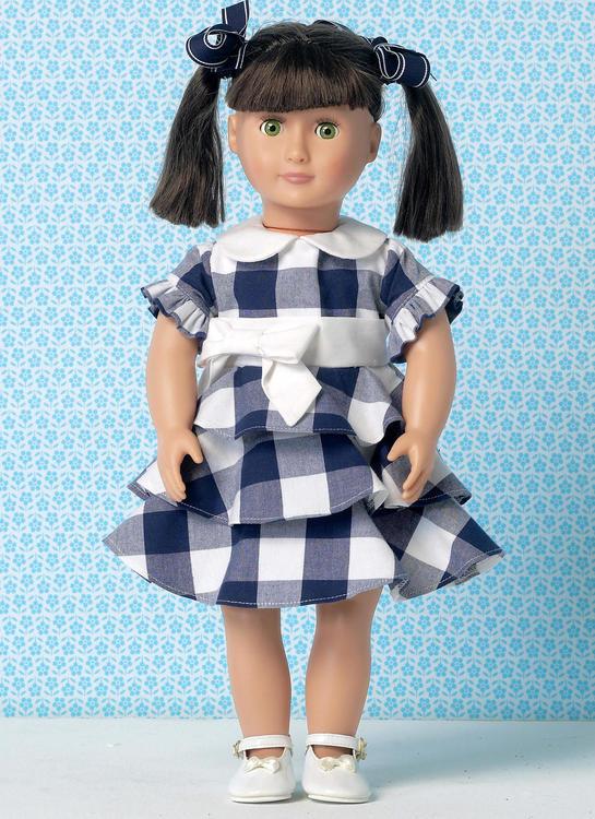 Kwik Sew k193 - Klänning - Barn och dockkläder Ellie mae