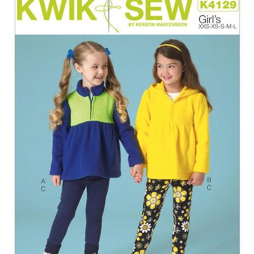 Kwik Sew k4129 tights tröja barn