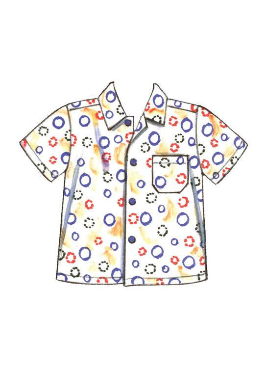 Kwik Sew 3730 - Jumpsuit Skjorta - Baby