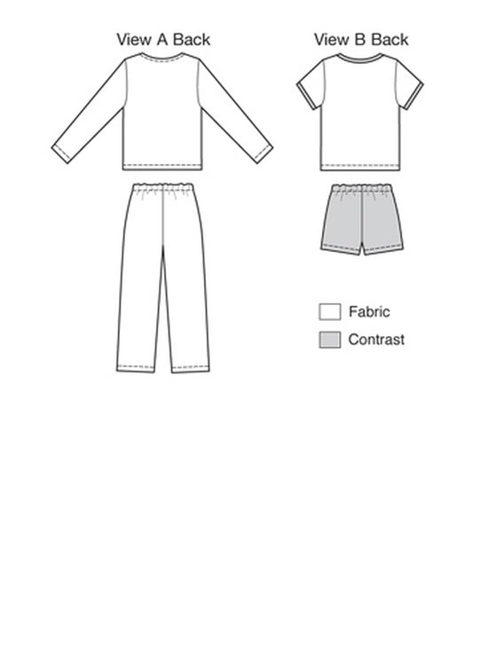 Kwik Sew 3831 - Pyjamas - Barn