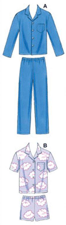 Kwik Sew 3604 - Pyjamas - Barn