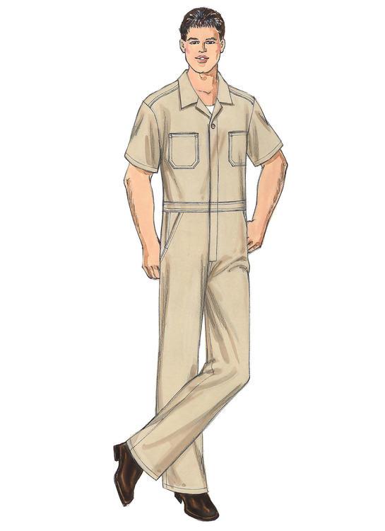 Kwik Sew k3389 - overall  - herr